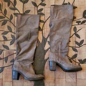 Aldo Tall Brown Boots Size 39 / 8.5. VGUC